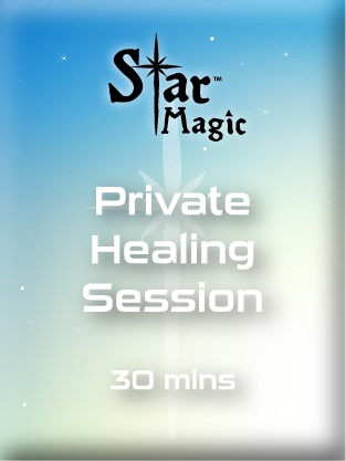 Private Healing Session -30 minutes