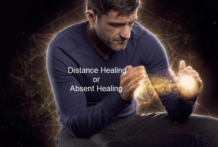 distance healing absent healing