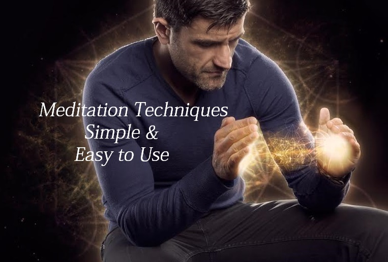 Meditation Techniques: Easy & Simple