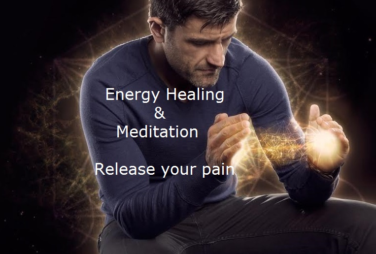 Energy Healing & Meditation – Release your pain