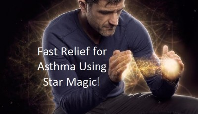Fast Relief for Asthma Using star magic energy healing