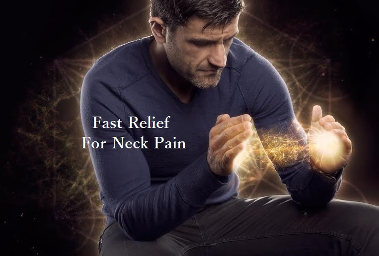fast relief for neck pain