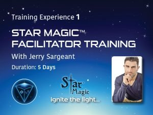 Jerry Sargeant Energy Healing Star Magic
