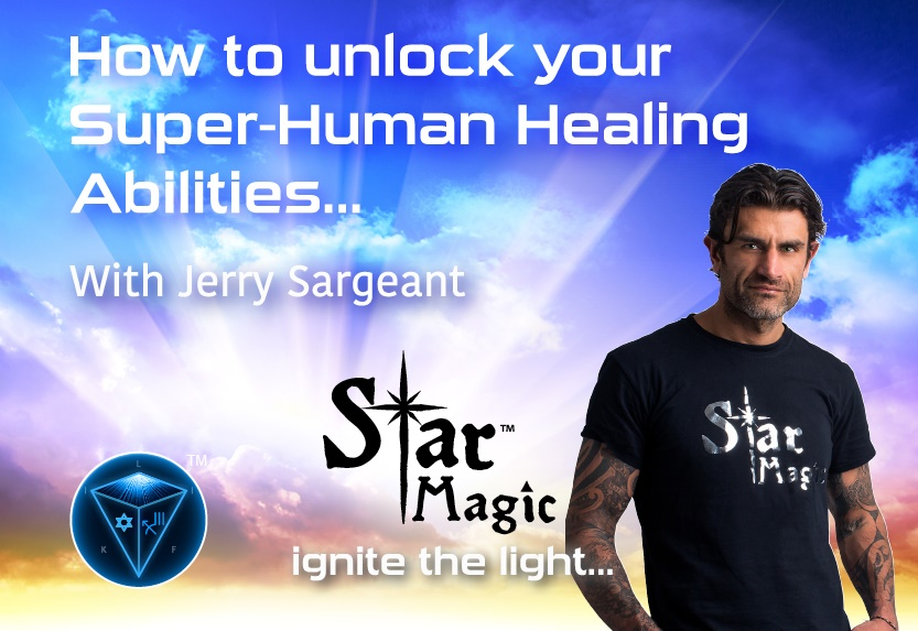 jerry sargeant energy healing workshop uk