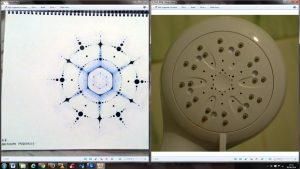 Arcturian Style Shower