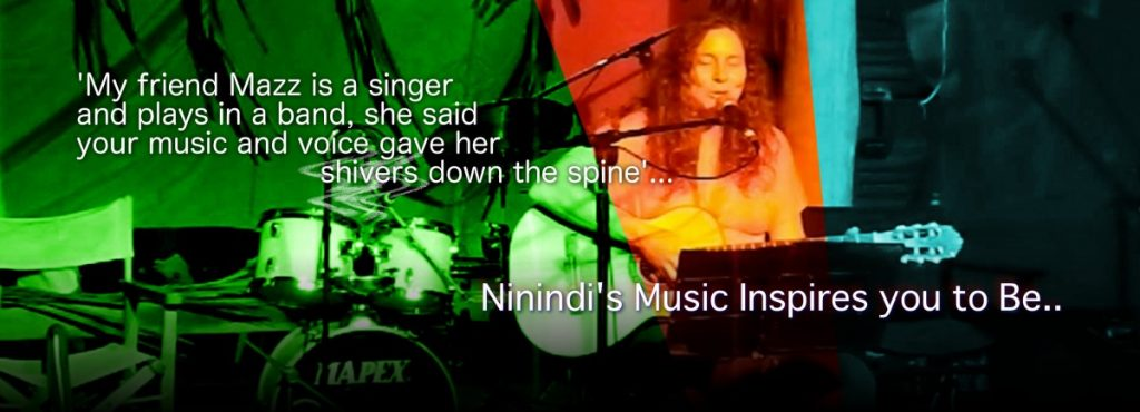 Ninindi Singer Songwriter EarthMotherMusic.org is a Star Magic Healer