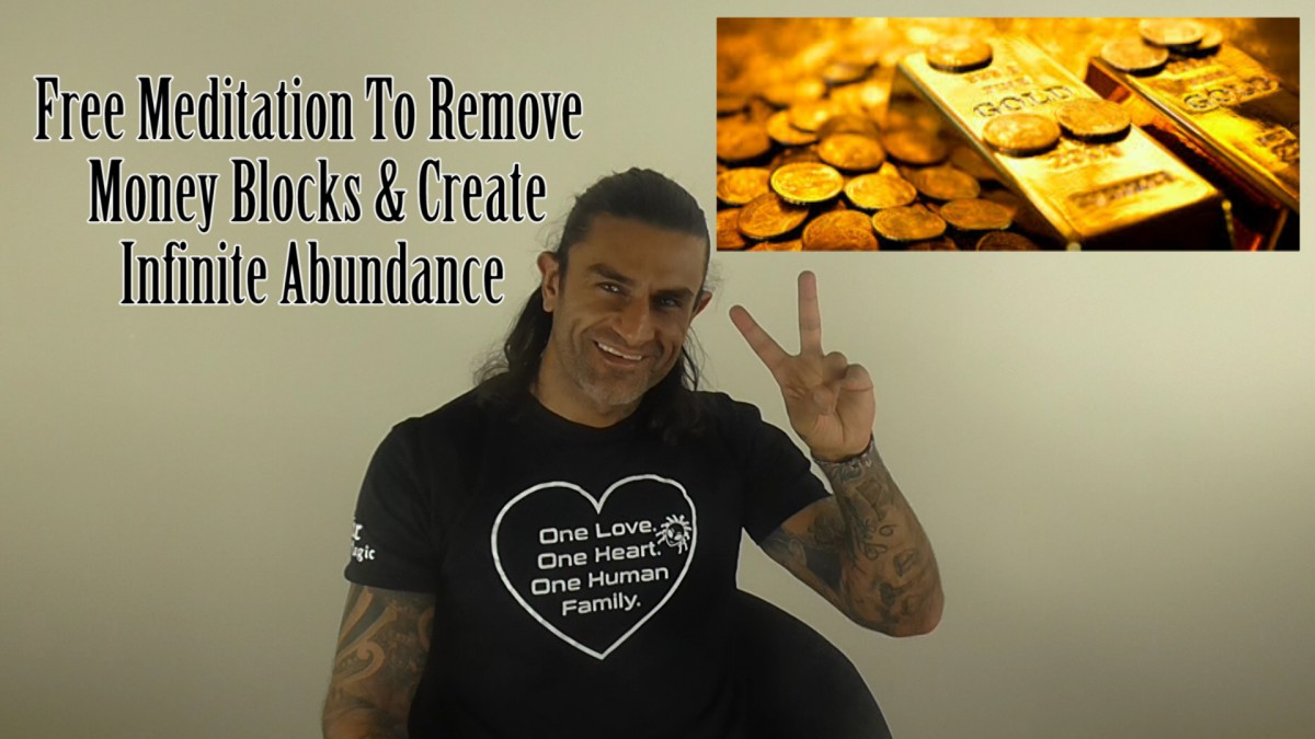 Infinite Abundance. The Money Factor Frequency – Free Meditation For Creating Wealth