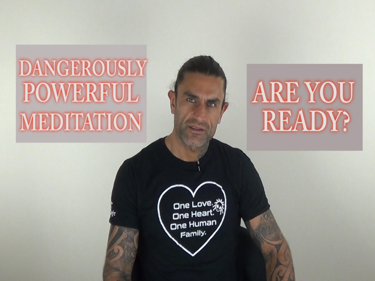 Dangeroulsy Powerful Meditation. Blend With the Cosmic Fabric & Elevate Your Frequency.