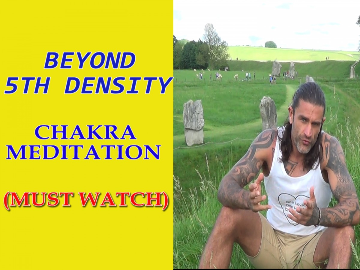 5th Density Chakra Meditation -Light Code Activation and Avatar Blueprint