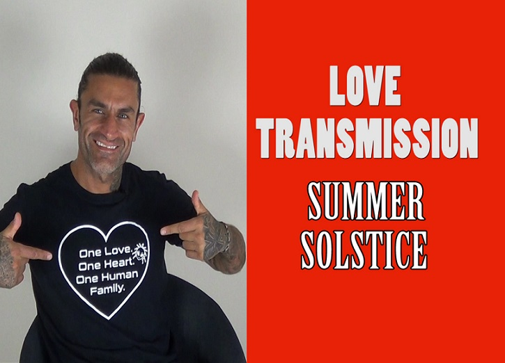 SUMMER SOLSTICE Guided Meditation – LOVE TRANSMISSION -Download Light Codes