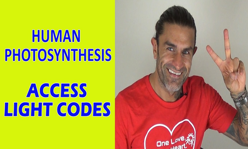 Human Photosynthesis – Light Code Activation & Power of the Sun