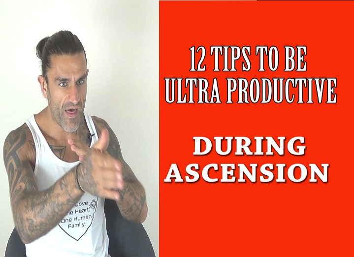 12 Tips To Be Focused and Ultra Productive Through Ascension
