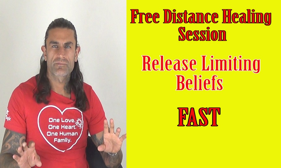 Free Distance Healing -Remove Limiting Beliefs