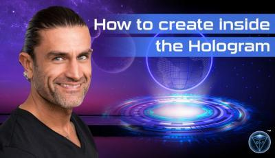 How to Create inside the Holographic Universe