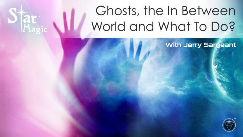 Jerry Sargeant shares his own insights into ghosts, and his own personal experiences.