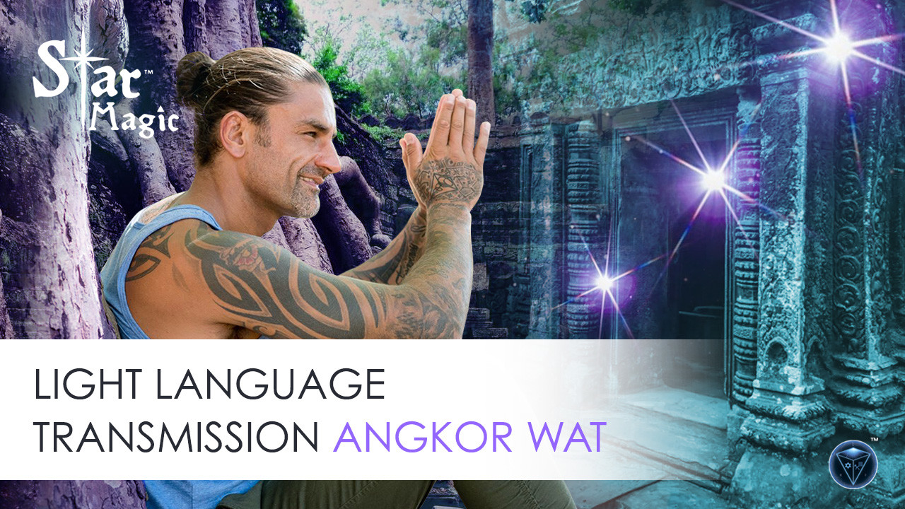 Light Language Transmission – Angkor Wat Cambodia