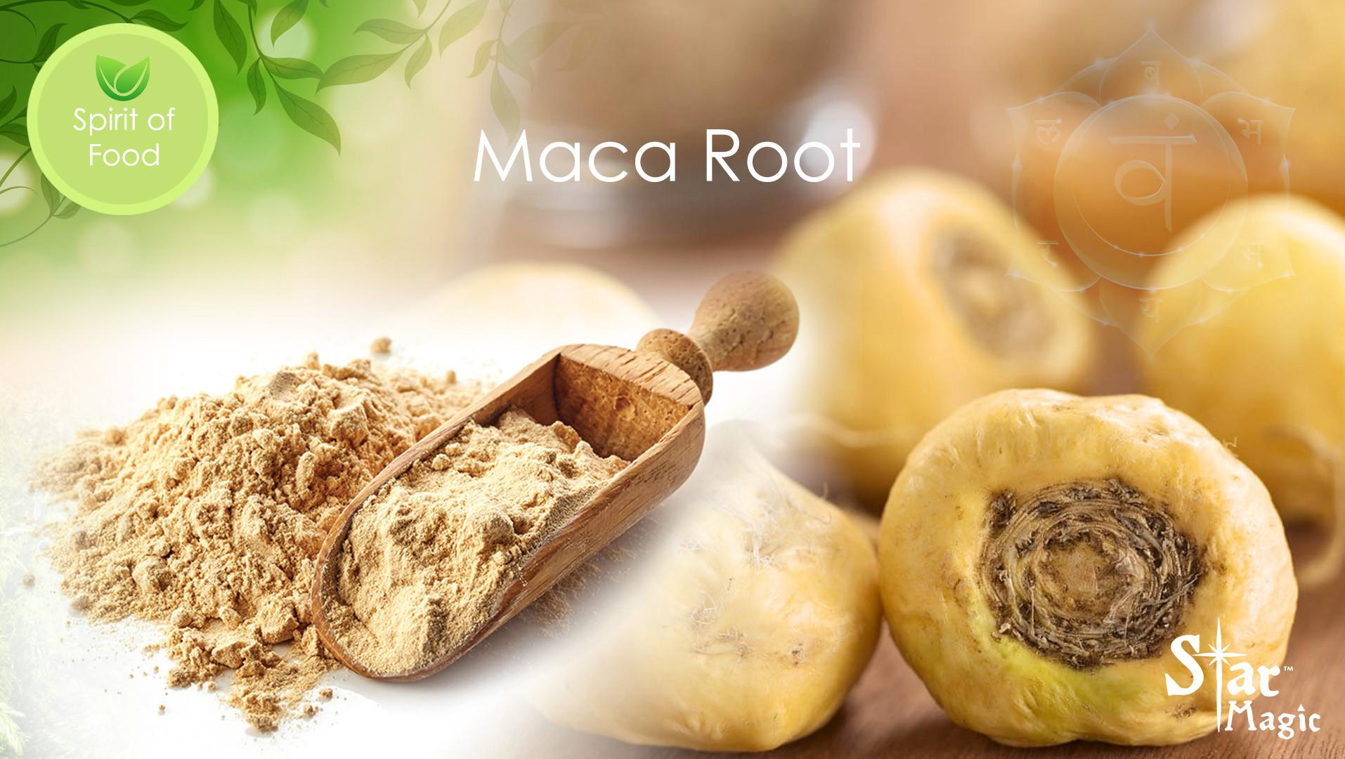 Spirit Food – Maca Root