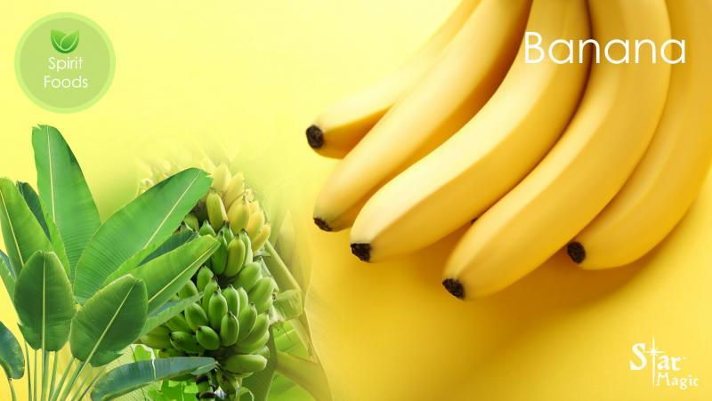Spirit Food - benefits of banana