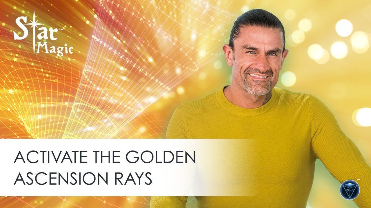 Activate the Golden Ascension Rays DNA Activation