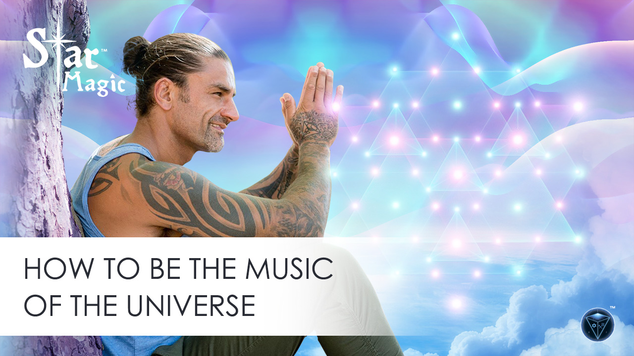 How to Be the Music of the Universe