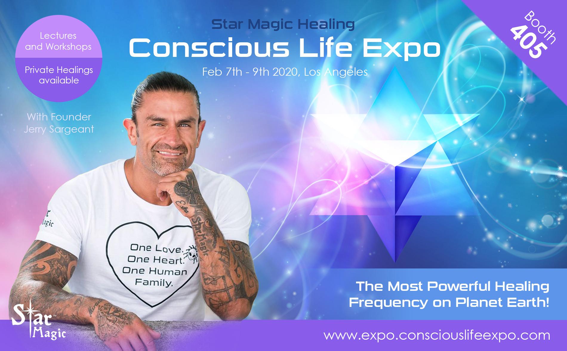 La Events February 2020.Conscious Life Expo 2020 Us Star Magic