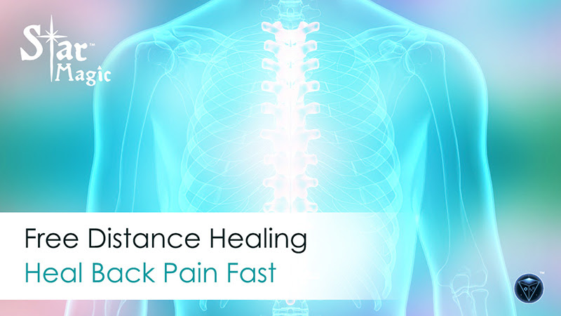 Free Distance Healing – Heal Back Pain Fast