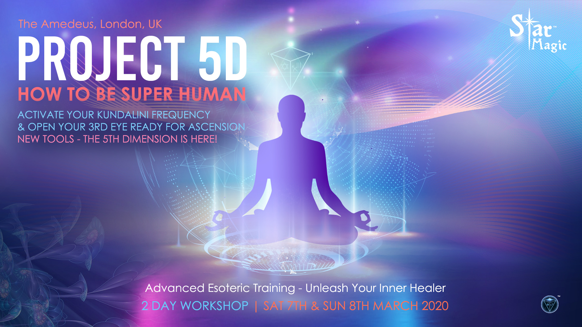 Project 5D - How to be Super Human