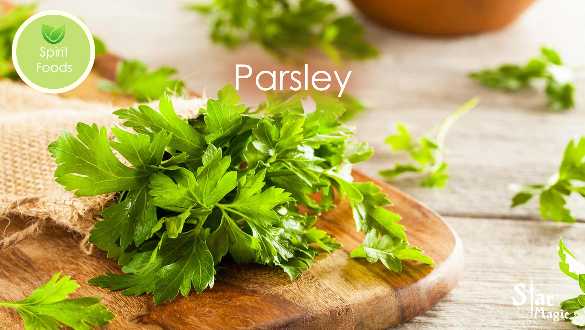Spirit Food – Parsley