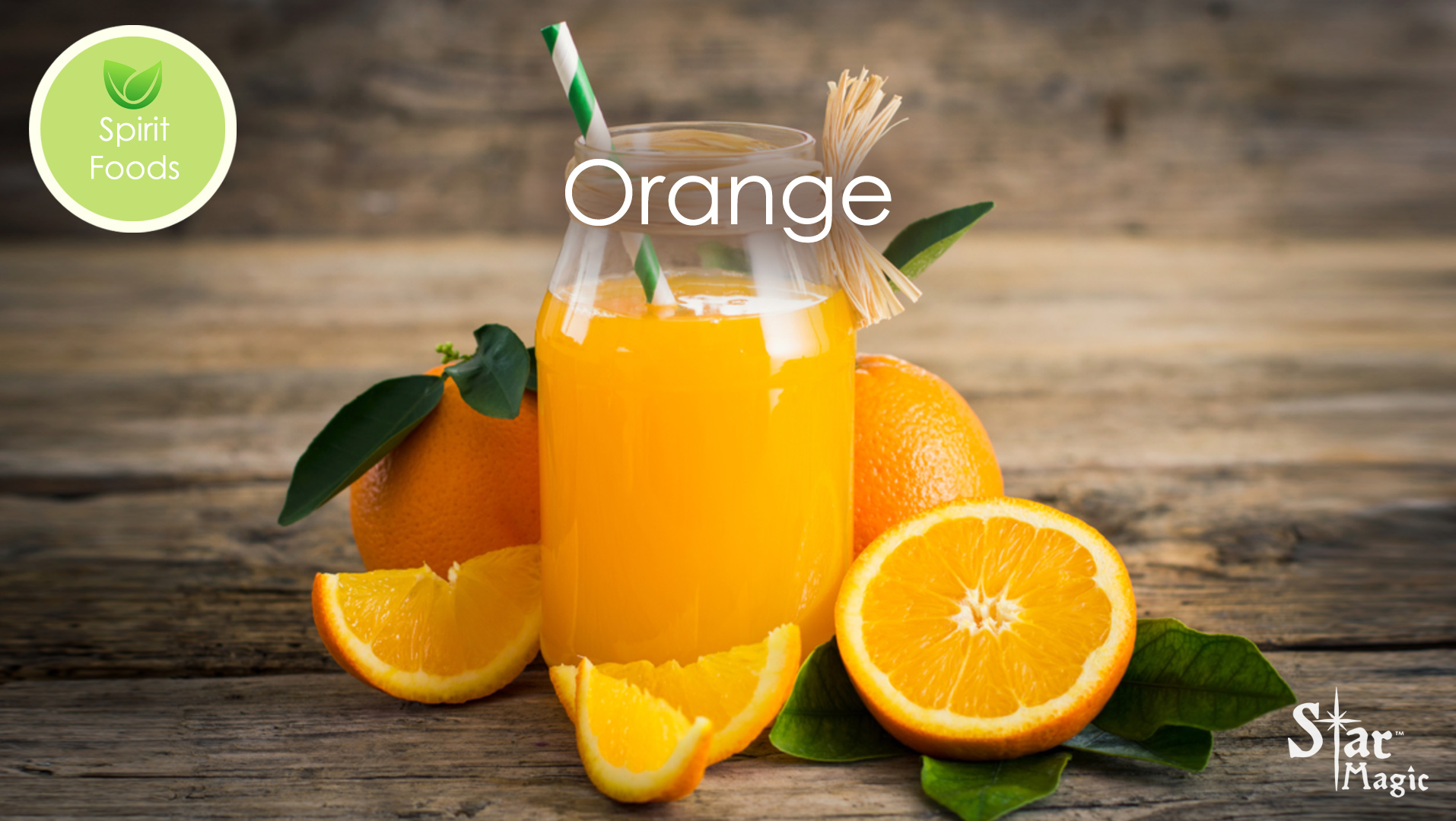 Spirit Food – Orange