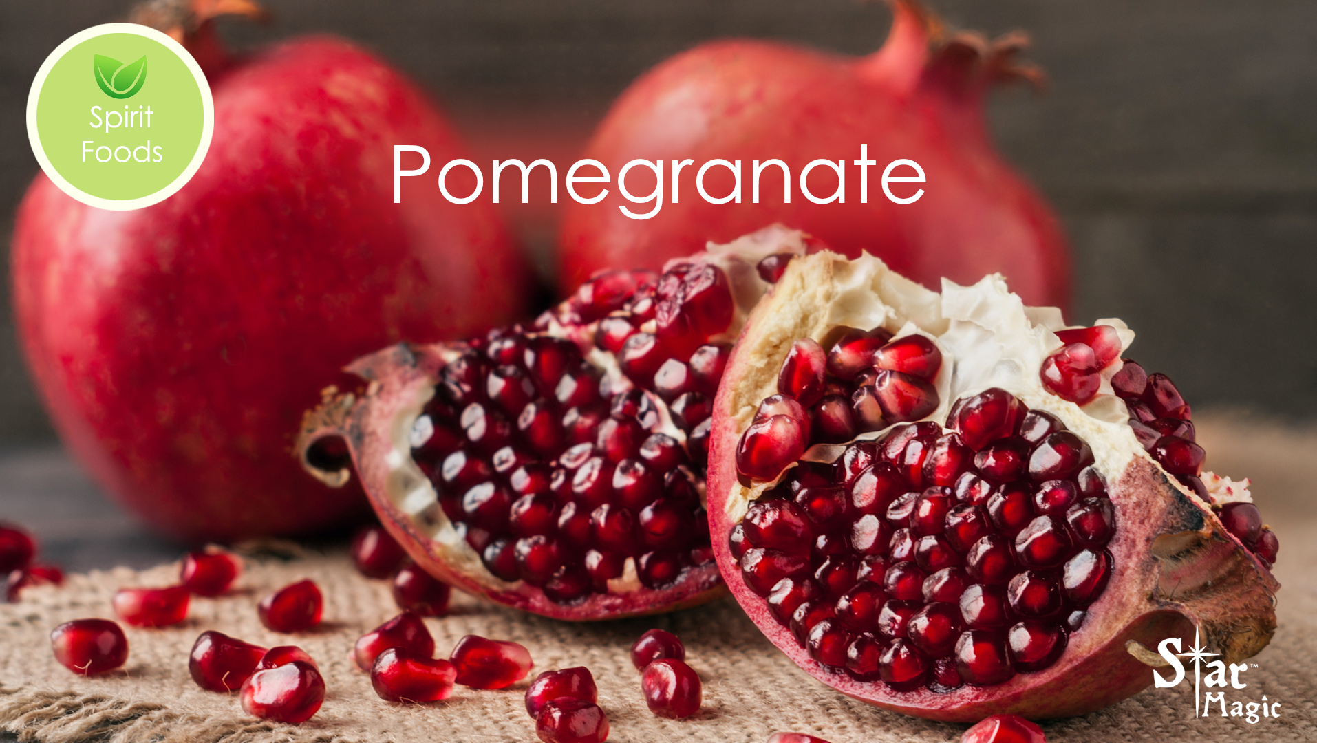 Spirit Food – Pomegranate
