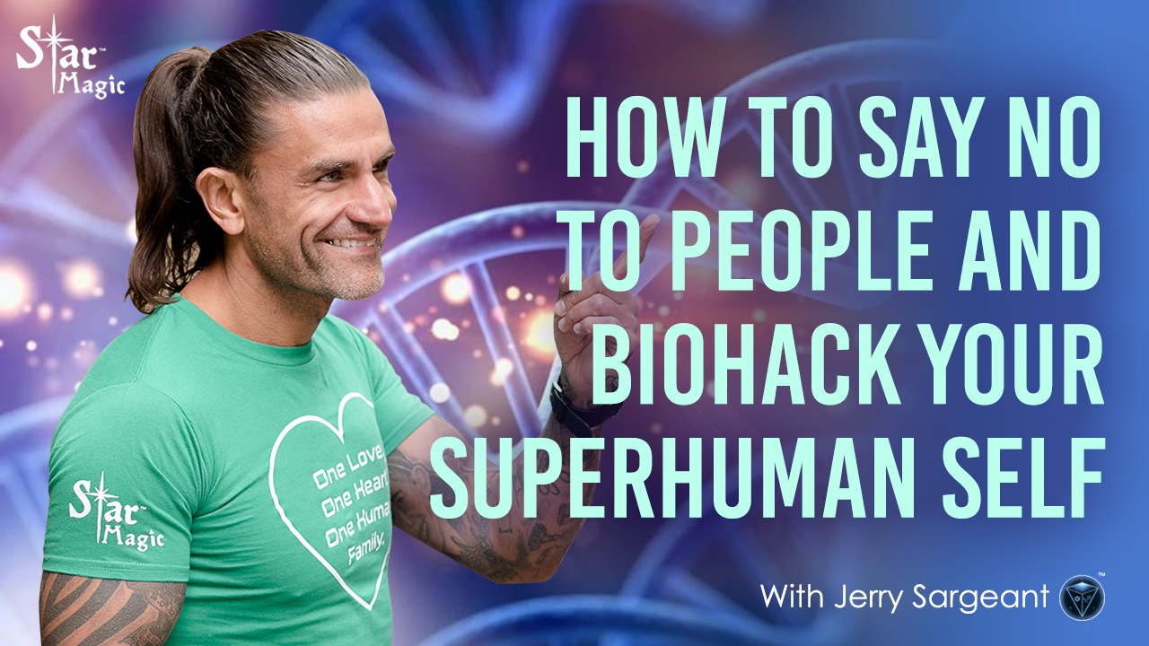 How to Say NO to People and Biohack Your Superhuman Self
