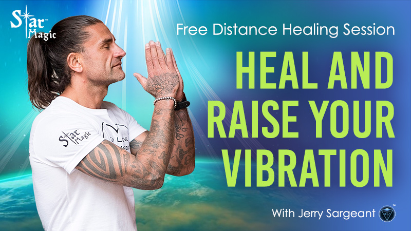 Free Distance Healing Session – Heal and Raise Your Vibration