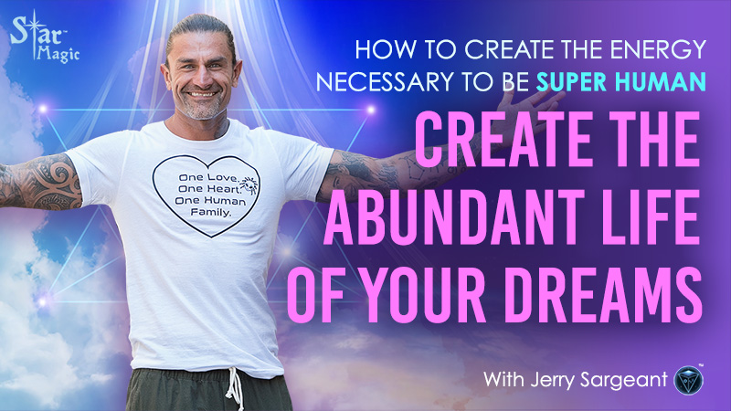 How To Create The Energy Necessary To Be SUPERHUMAN