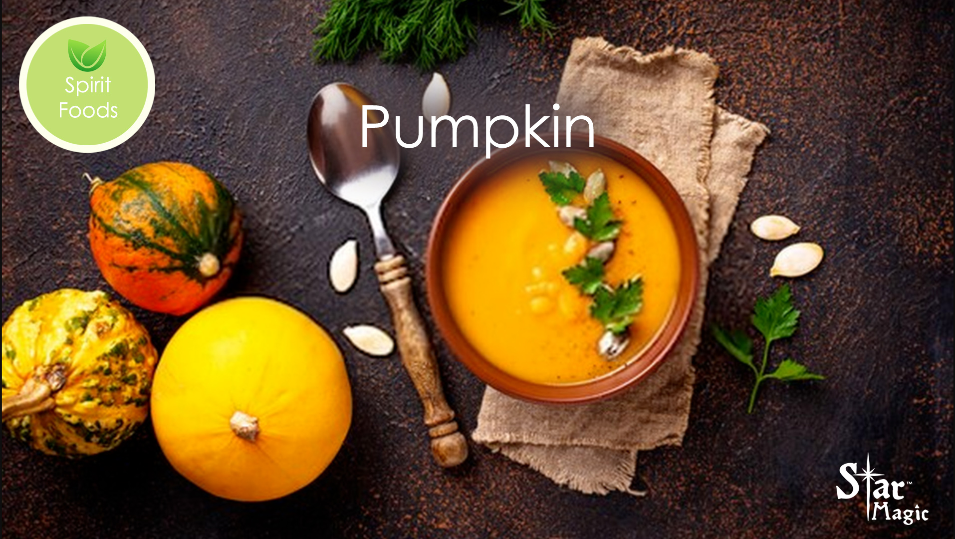 Spirit Food – Pumpkin