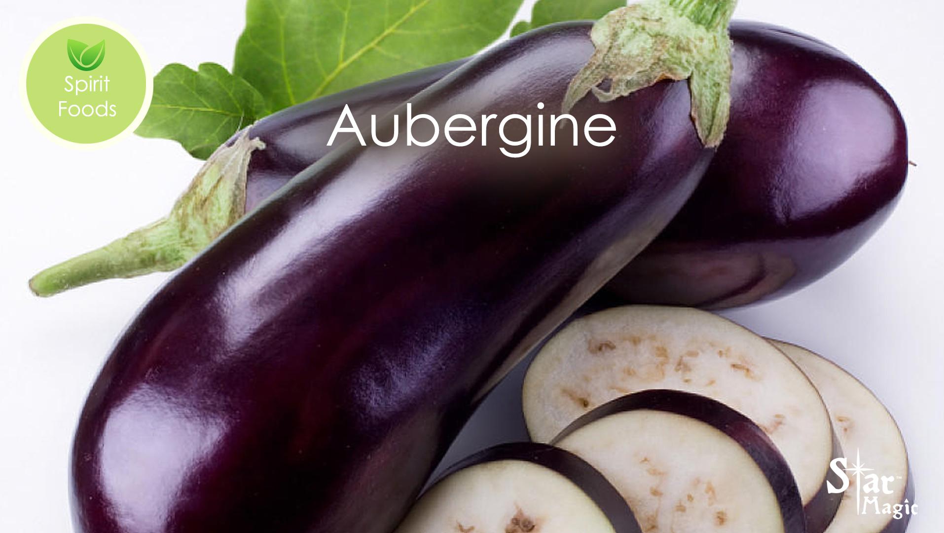 Spirit Food – Eggplant (Aubergine)