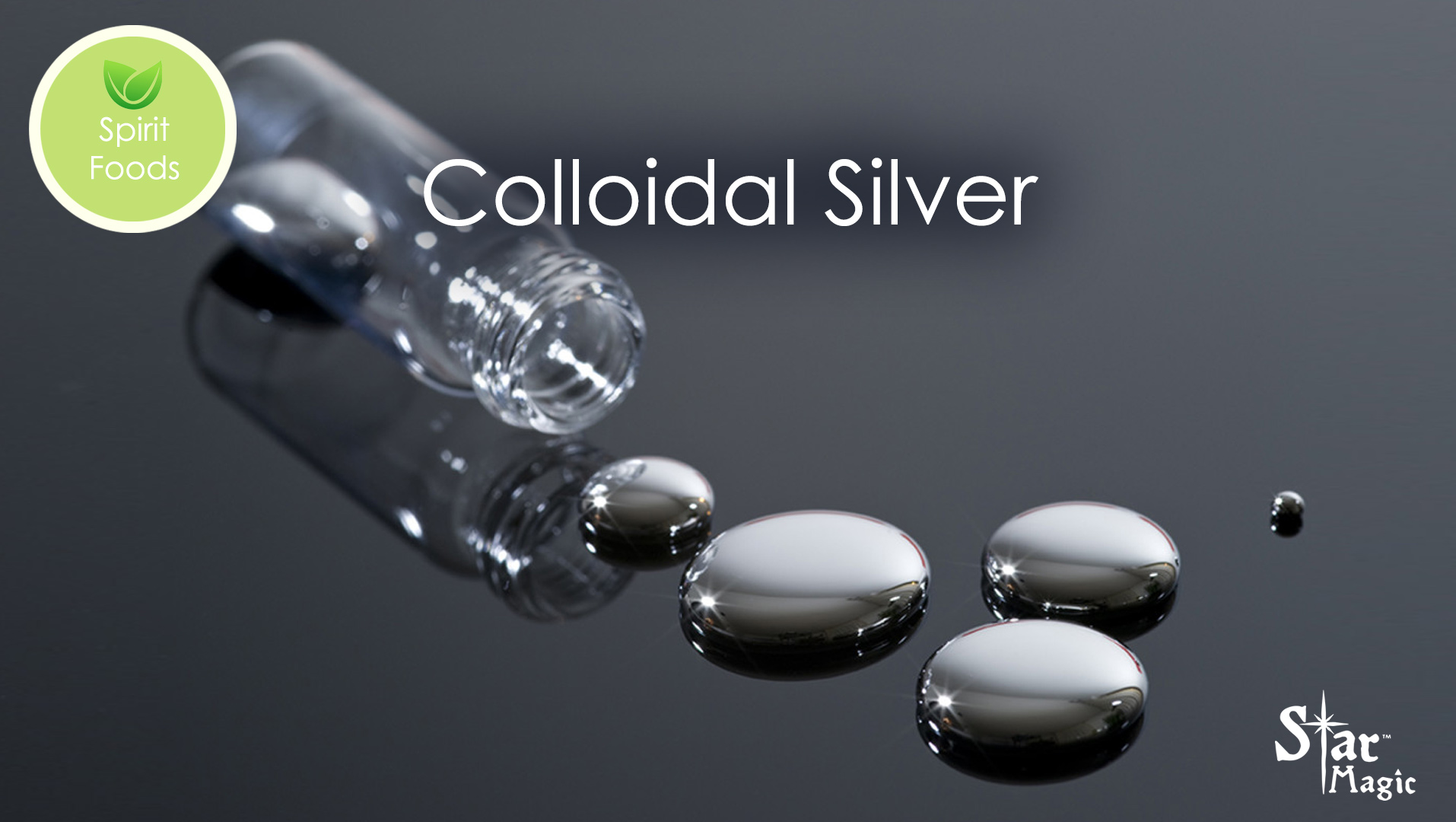 Spirit Food – Colloidal Silver Solutions
