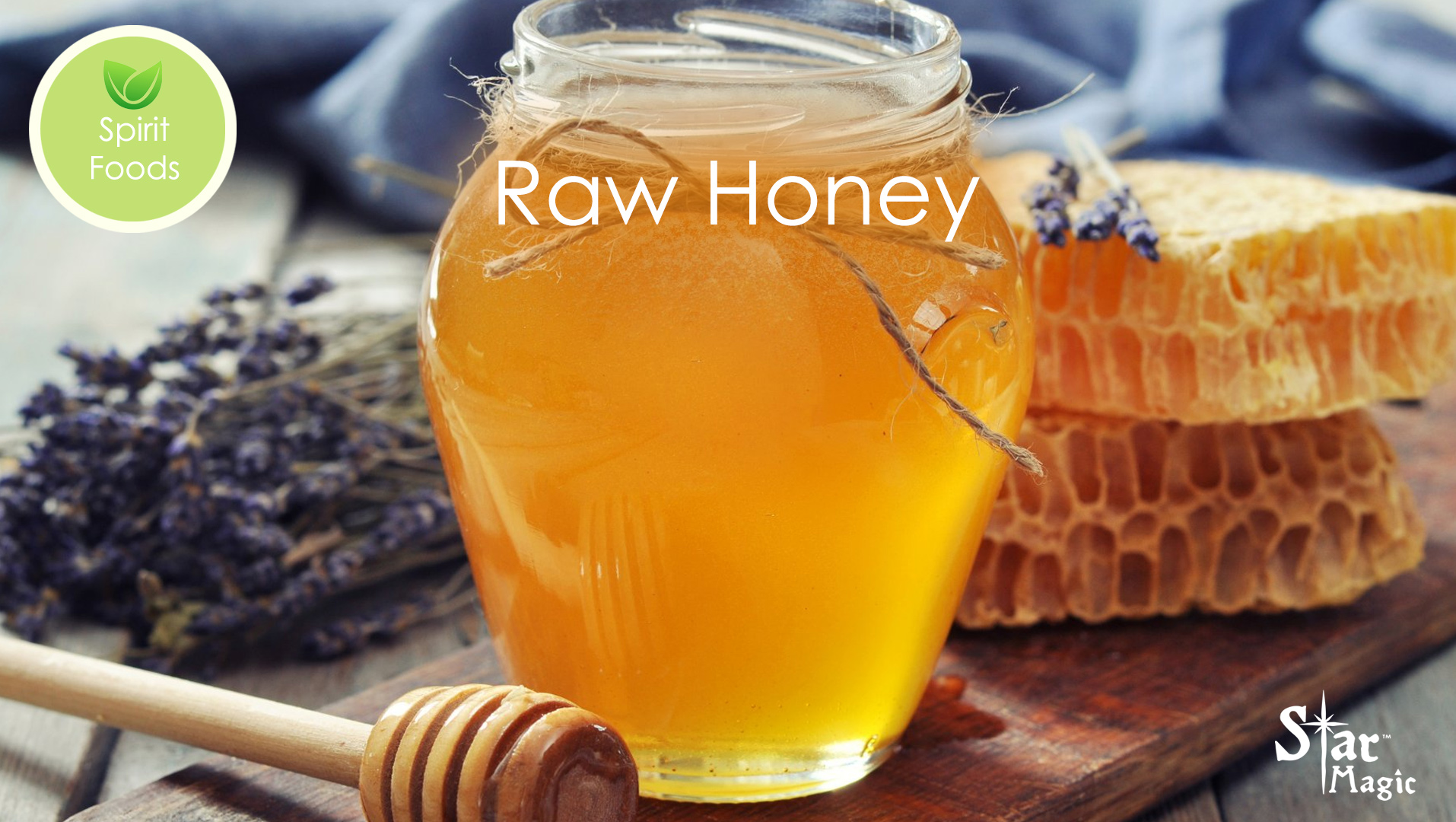 Spirit Food – Raw Honey