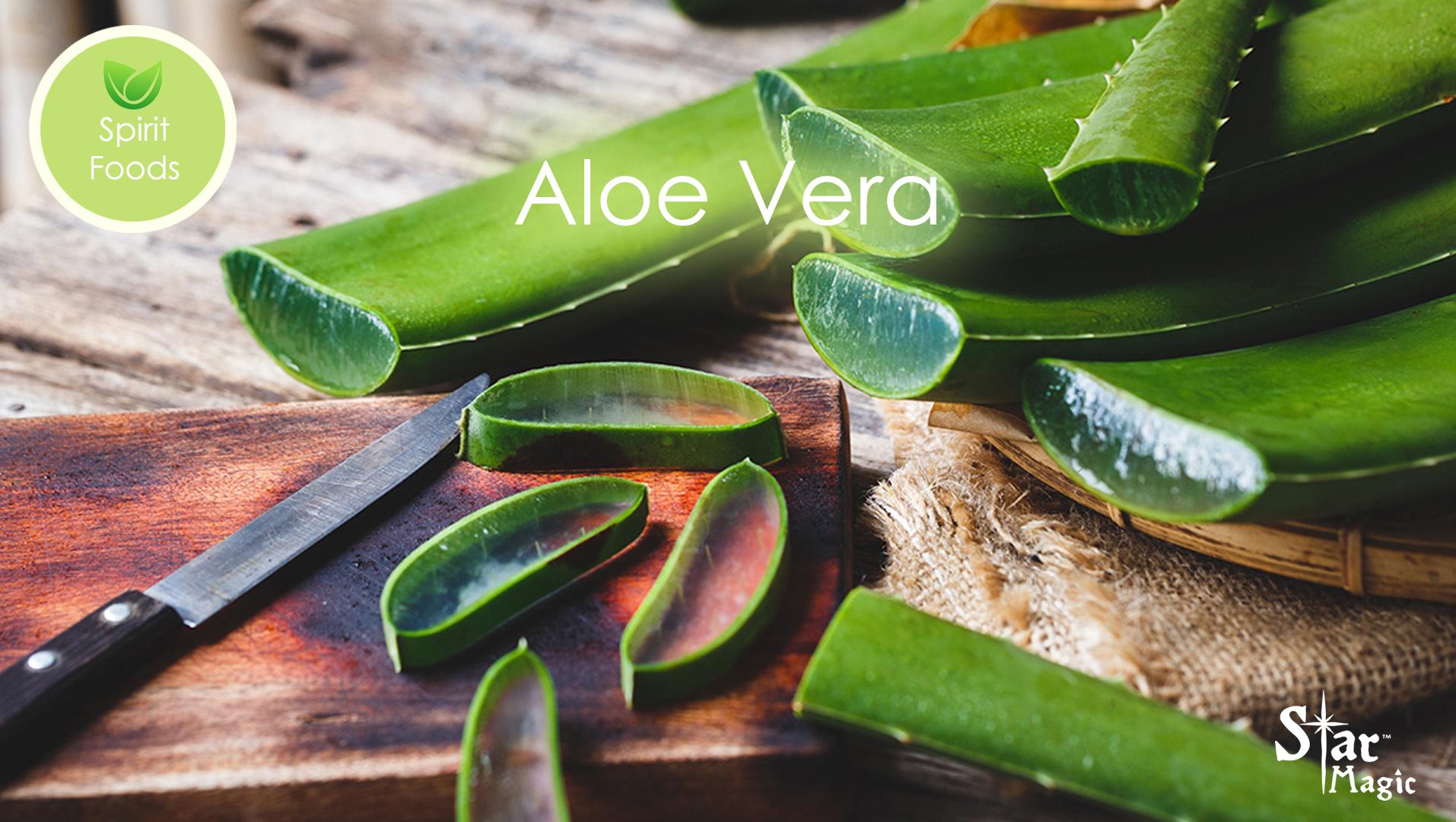 Spirit Food – Aloe Vera