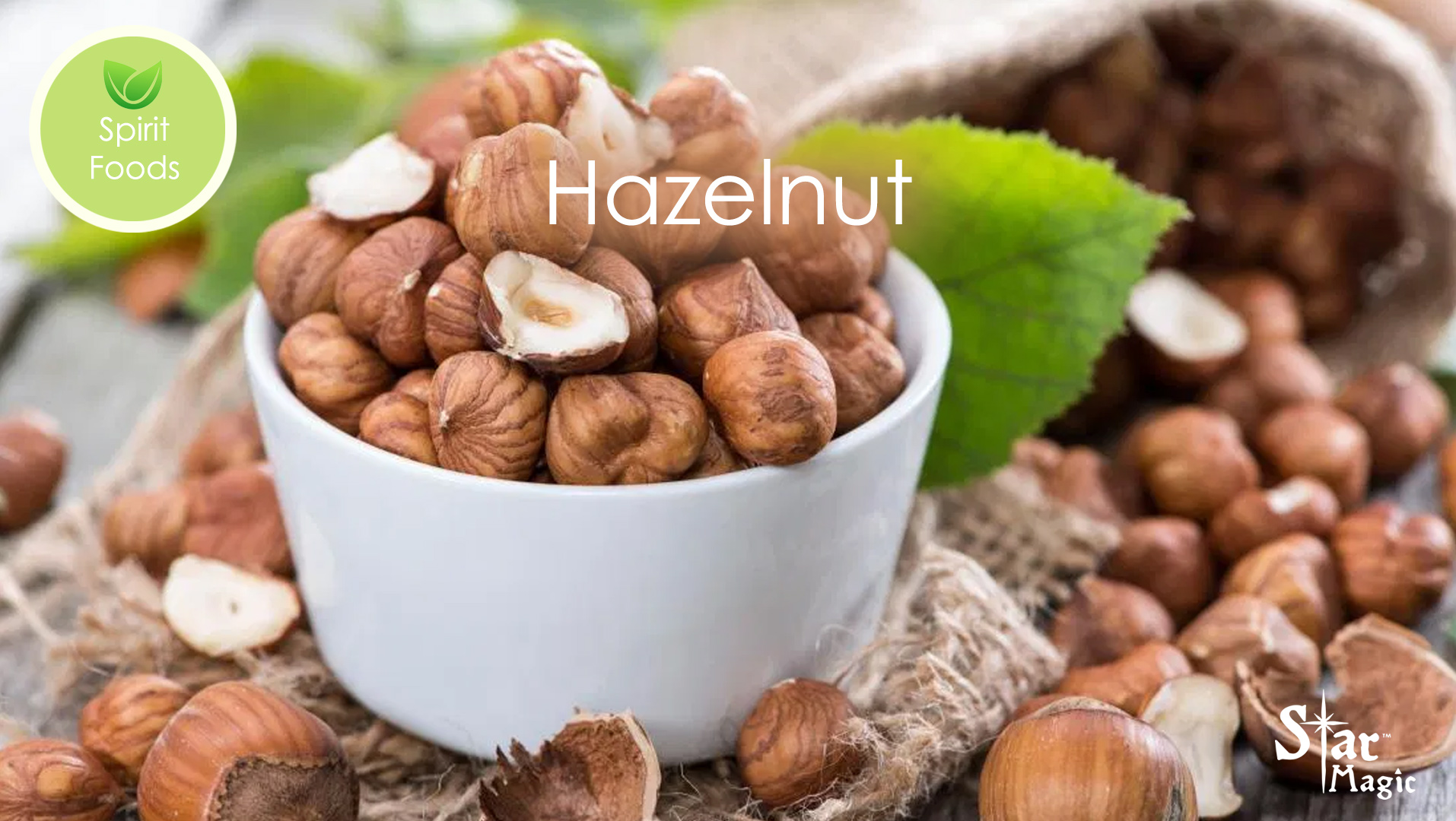 Spirit Food – Hazelnut