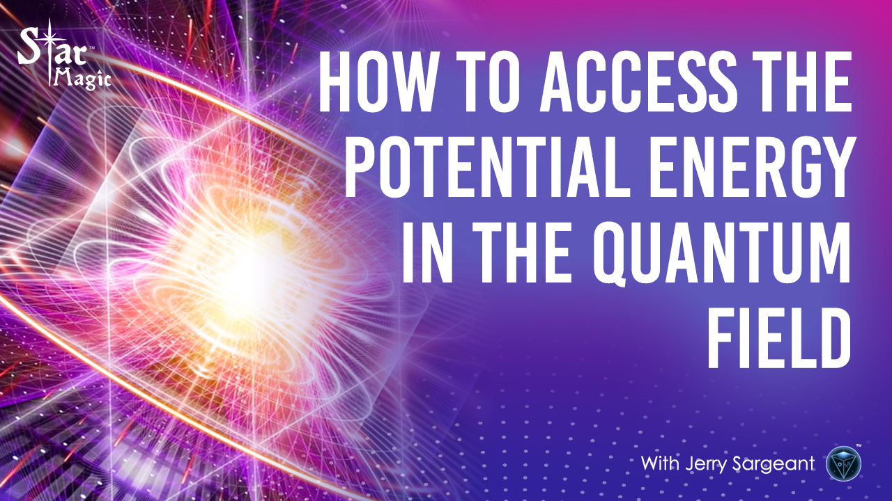 How To Access Potential Energy In The Quantum Field