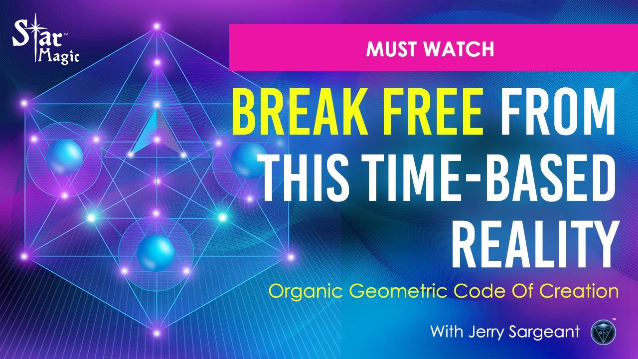 VIDEO: Consciousness DNA Template | Organic Geometric Code Of Creation