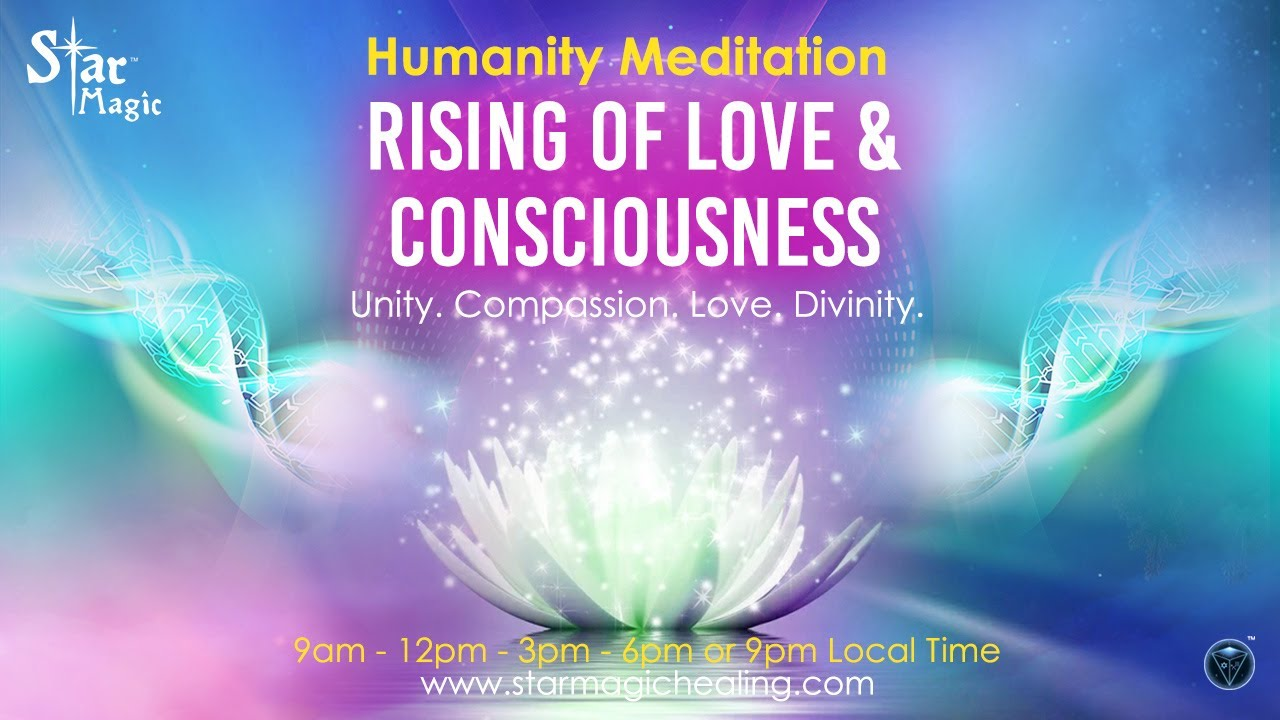 VIDEO: Rising of LOVE and CONSCIOUSNESS  | Divine Sovereign Meditation & Healing Transmission