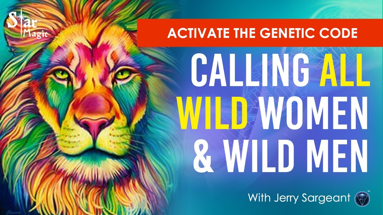 VIDEO: Activate Your Genetic Code | Unleash The Lioness or Lion Within