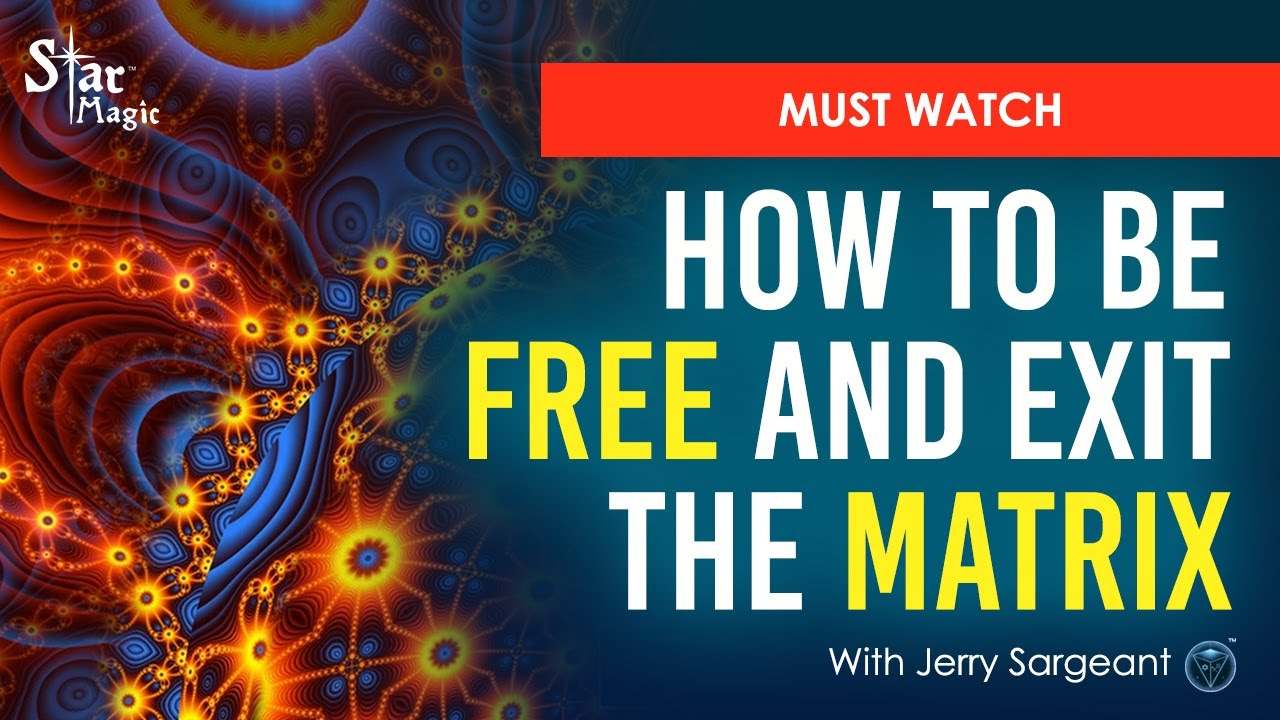 VIDEO: How To Be FREE and Exit The MATRIX