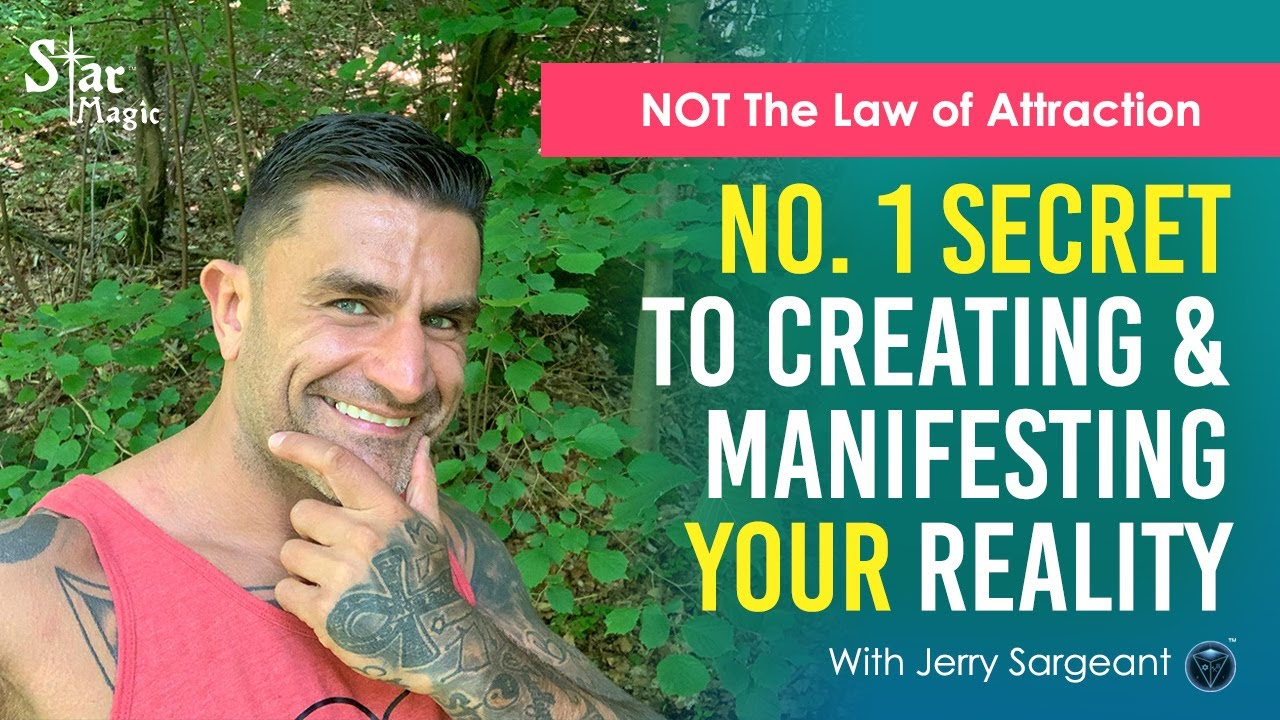 VIDEO: No. 1 Secret To Creating & Manifesting Your Reality | It's NOT The Law of Attraction