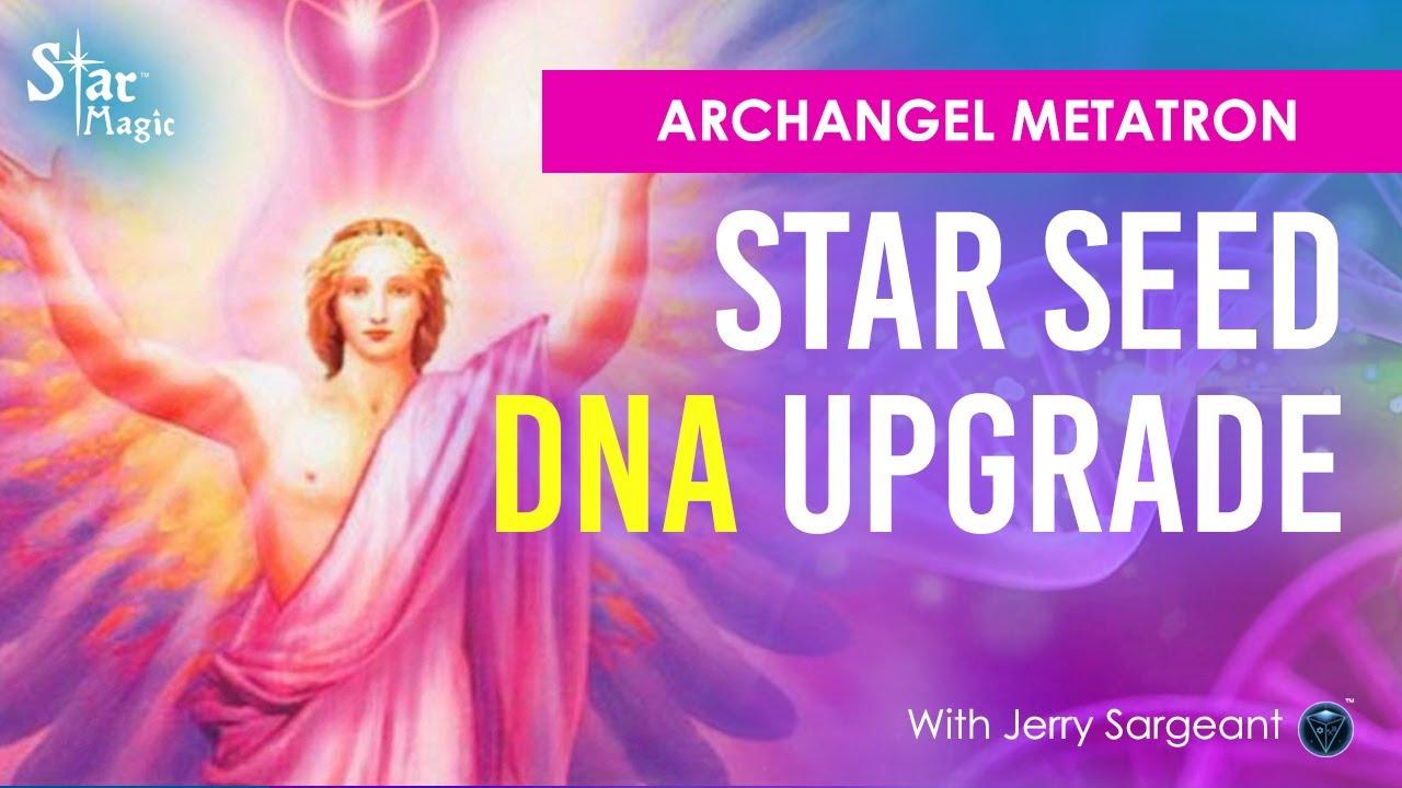 VIDEO: Archangel Metatron Star Seed DNA Activation – Meditation & Healing Transmission