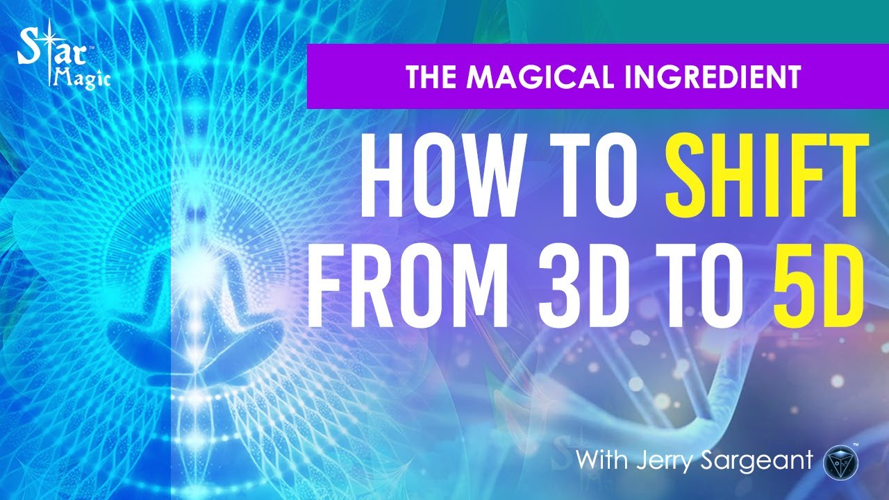 VIDEO: SHIFT From 3D To 5D FAST | How To Switch Up Your Frequency