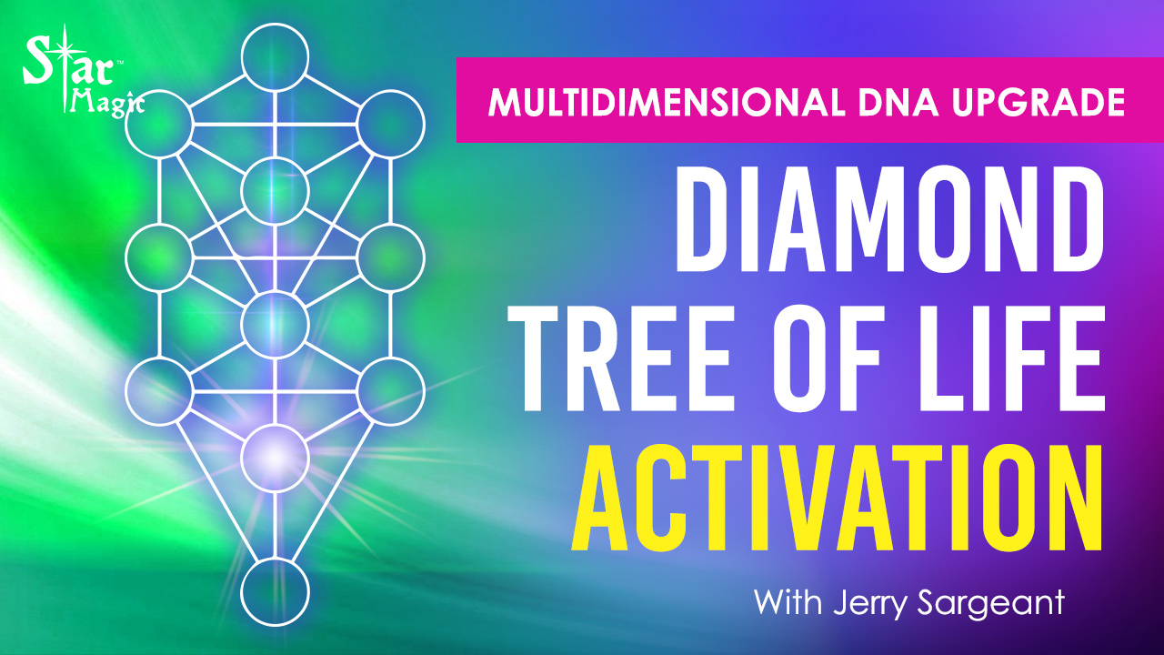 VIDEO: Diamond Tree Of Life Activation | Multidimensional DNA Upgrade & The Holy Grail