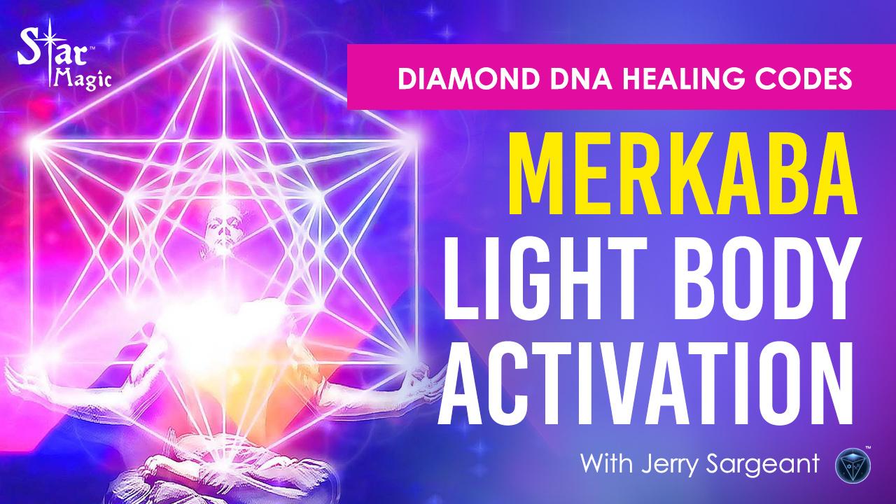 VIDEO: Merkaba Light Body Activation I Diamond DNA Healing Codes
