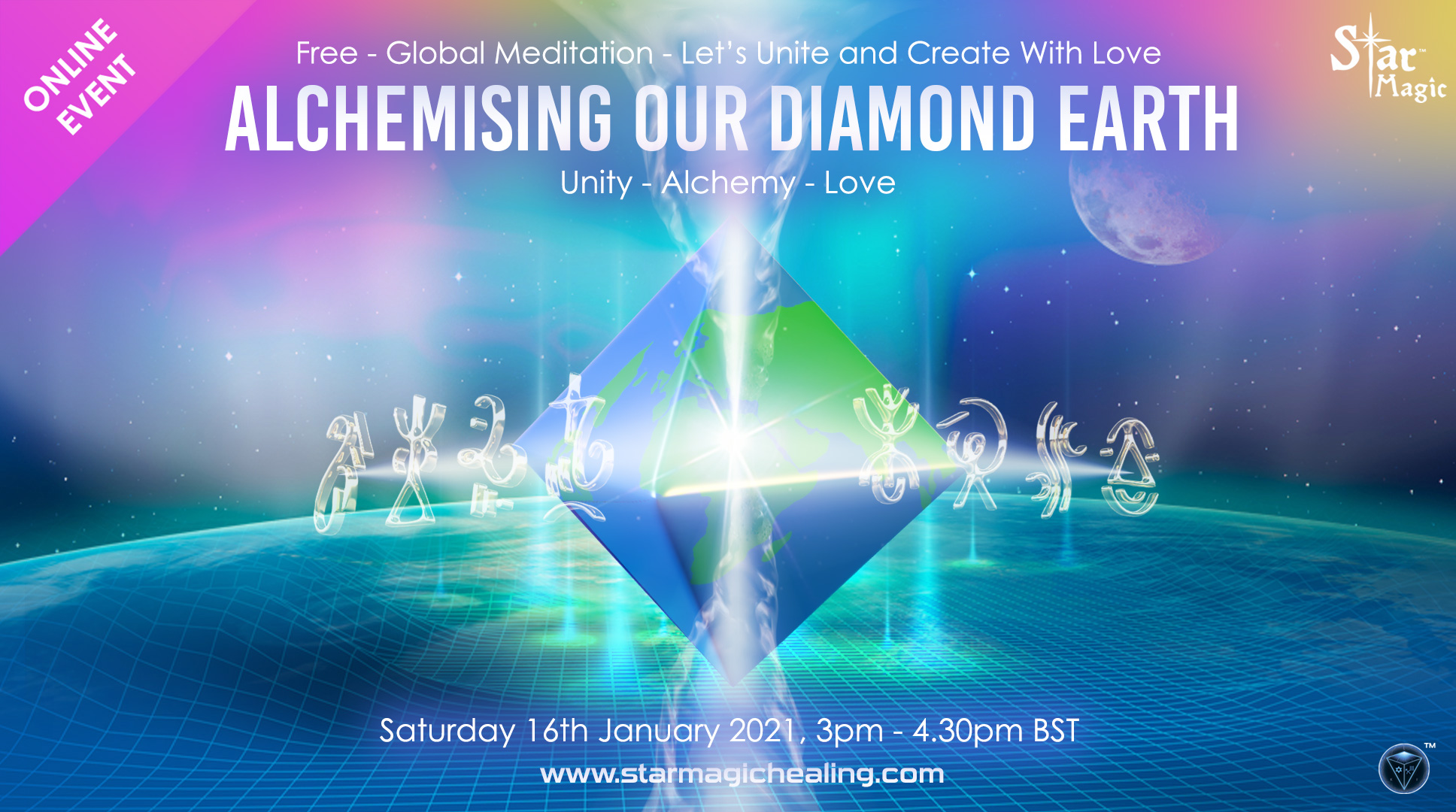 Alchemising Our Diamond Earth, Unity - Alchemy - Love